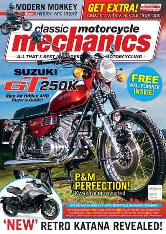 Classic Motorcycle Mechanics November 2018 By Mortons Media Group