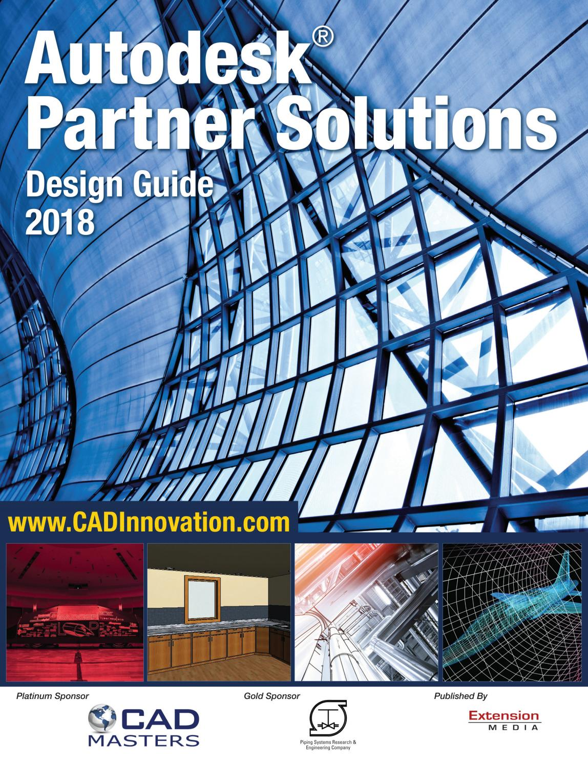Autodesk® Partner Solutions Design Guide, 2018 by pinoycad+