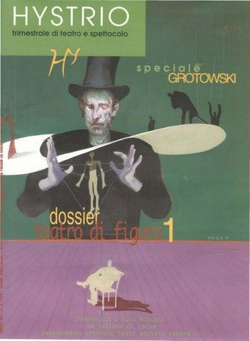Hystrio 1999 2 aprile-giugno by Hystrio - issuu 26c486fc58f