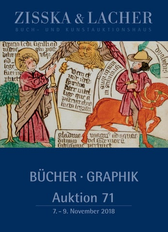 Zisska Lacher Auktion 71 Nov 2018 Teil 1 Auction 71 Part