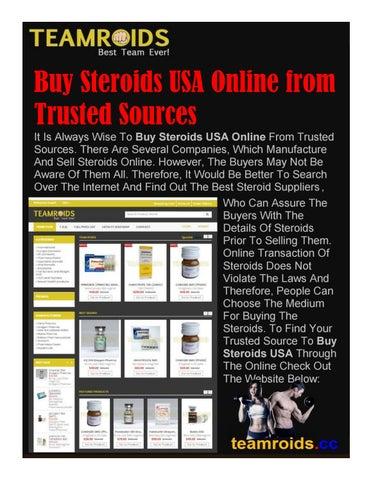 Steroids Sources Online