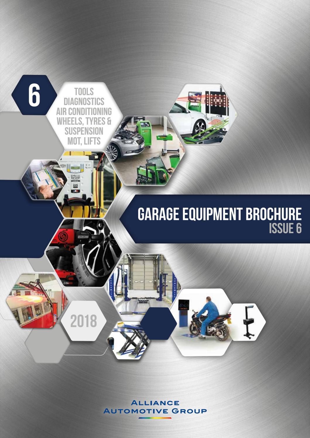 Garage Equipment Brochure Issue 6 2018/19 by Workshop Pro