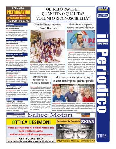 Il Periodico News - OTTOBRE 2018 N°135 by IlPeriodicoNews - issuu dfb0e906dca