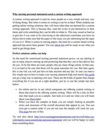 Help writing custom personal statement best personal statement editing site uk