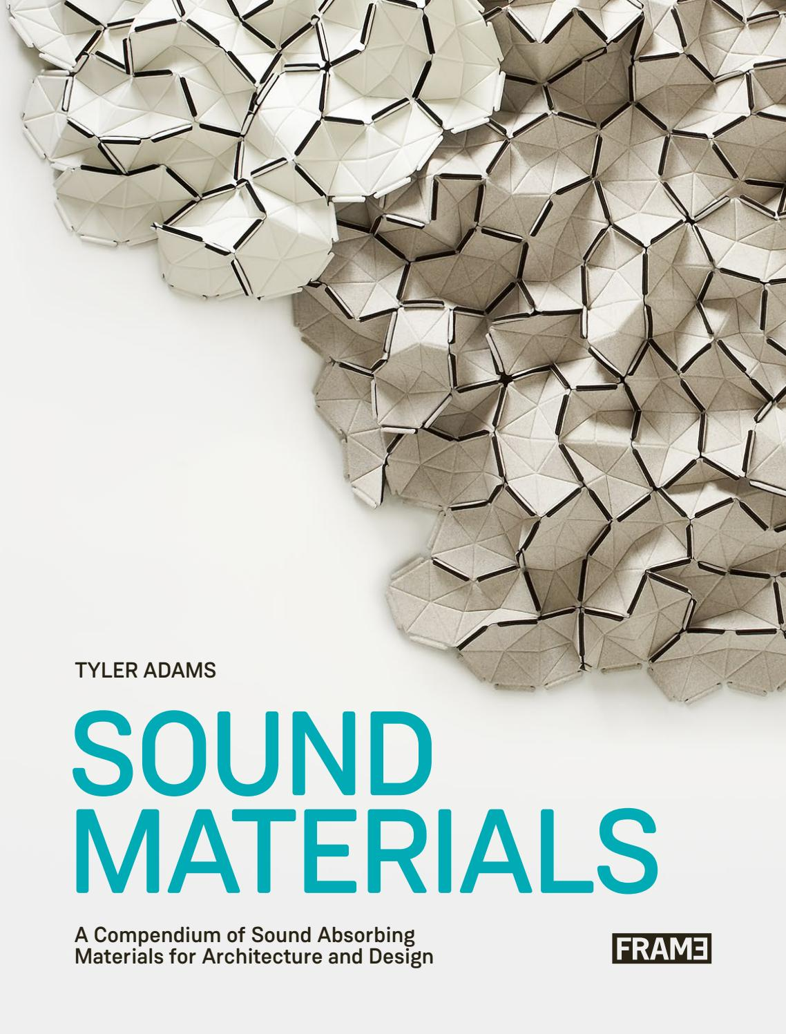 PREVIEW Sound Materials – A Compendium of Sound Absorbing