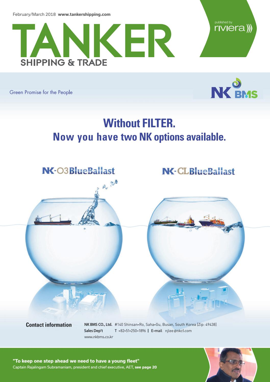 Tanker Shipping & Trade February/March 2018 by