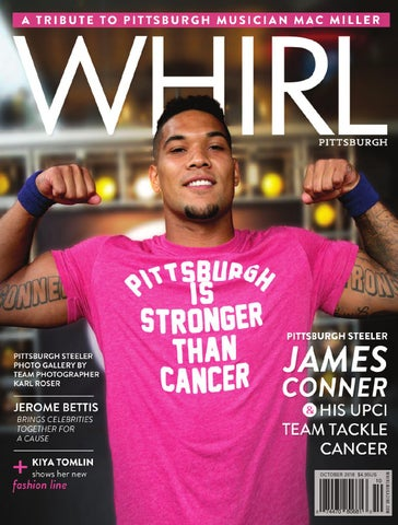 b13446ac8 WHIRL Magazine  October 2018. In this issue  Pittsburgh Steeler ...