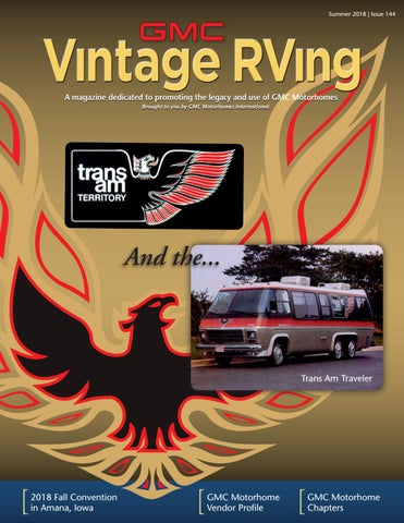 GMC Vintage RVing magazine - Fall 2018 by CEVA Design - issuu