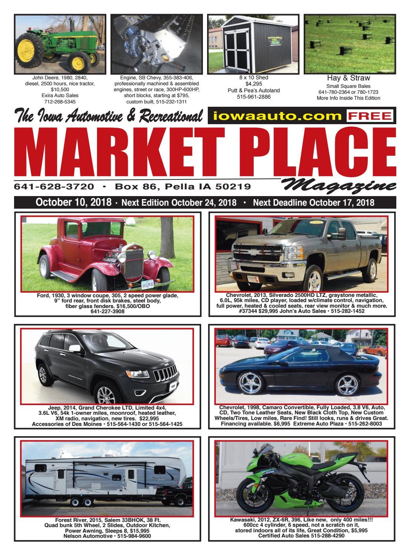 Marketplace Magazine October 10, 2018 by Marketplace