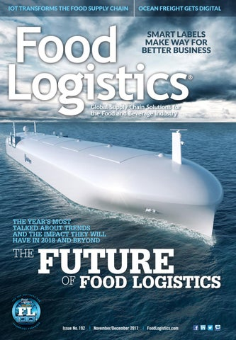 Food Logistics November December 2017 by Supply+Demand Chain