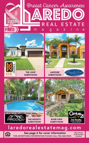 Laredo Real Estate Magazine October 2018 By Laredo Real