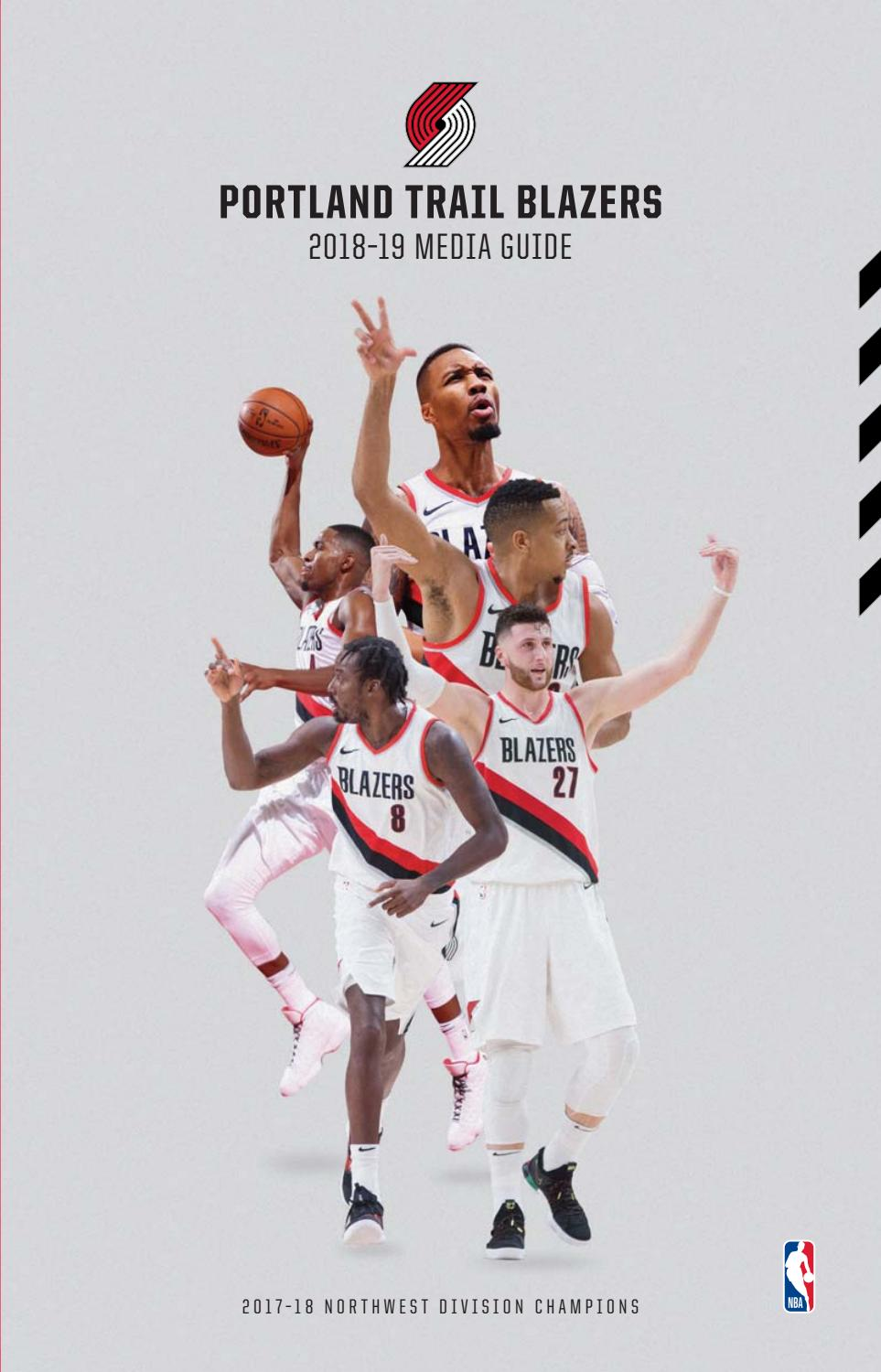 8bdfad202cc5 2018-19 Trail Blazers Media Guide by Portland Trail Blazers - issuu