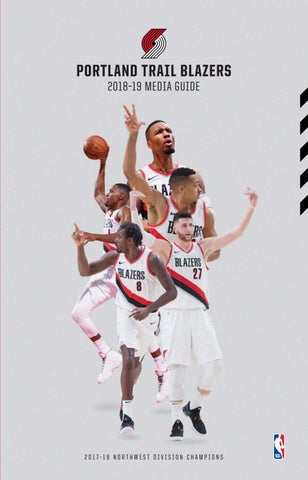 dd9a167e57a0 2018-19 Trail Blazers Media Guide by Portland Trail Blazers - issuu