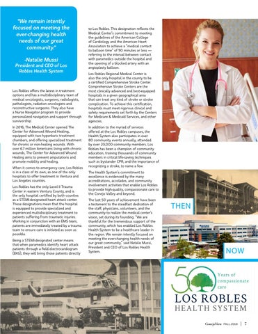 Page 9 of Los Robles Health Systems - Celebrating 50 Years in the Coommunity