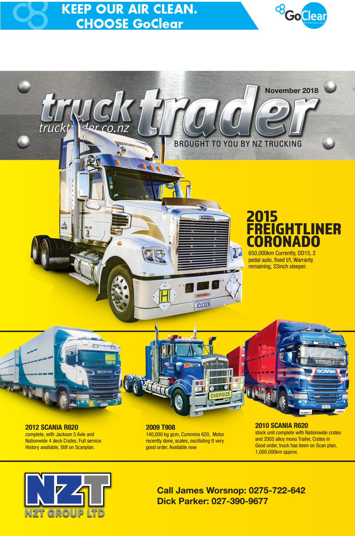 Truck Trader November 2018 by NZTrucking - issuu