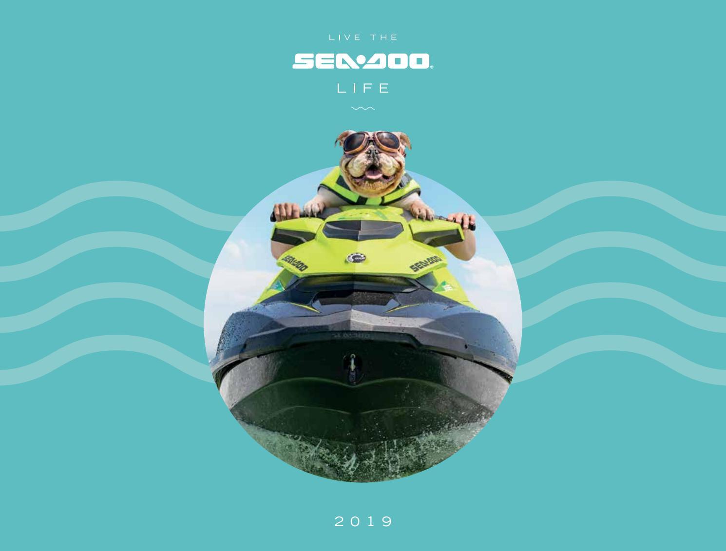 Sea-Doo 2019 Product Catalogue by Triple 888 Studios - issuu
