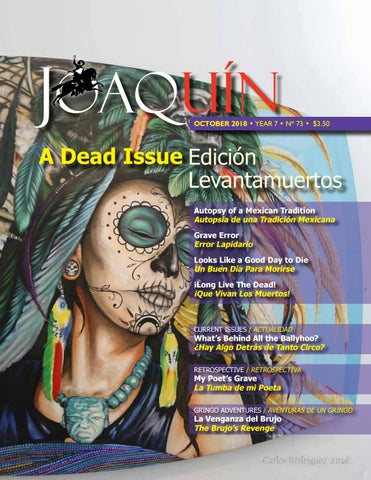 Joaquin October 2018 by Roberto Radrigán issuu