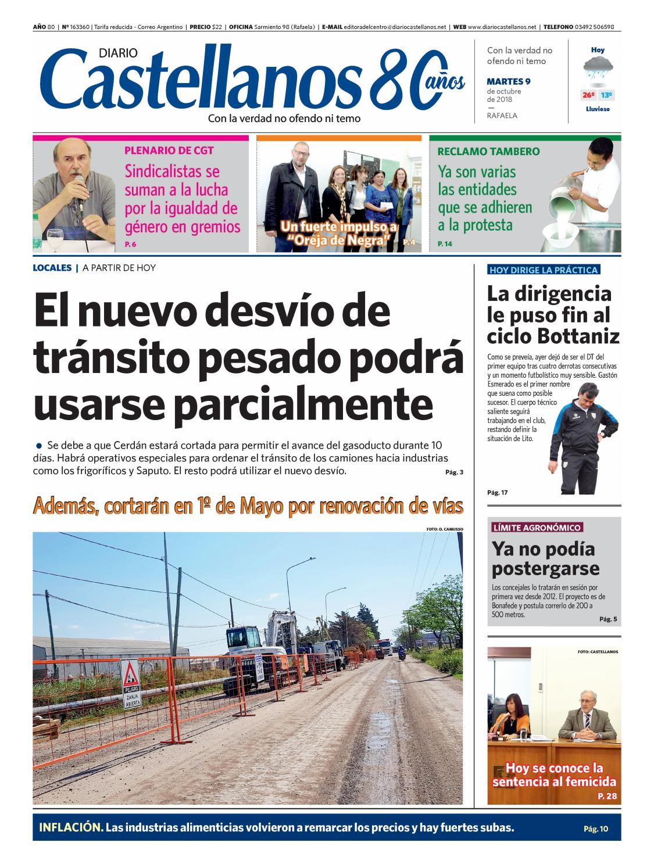 Diario Castellanos 09 10 18 by Diario Castellanos - issuu 52c784ff24ade