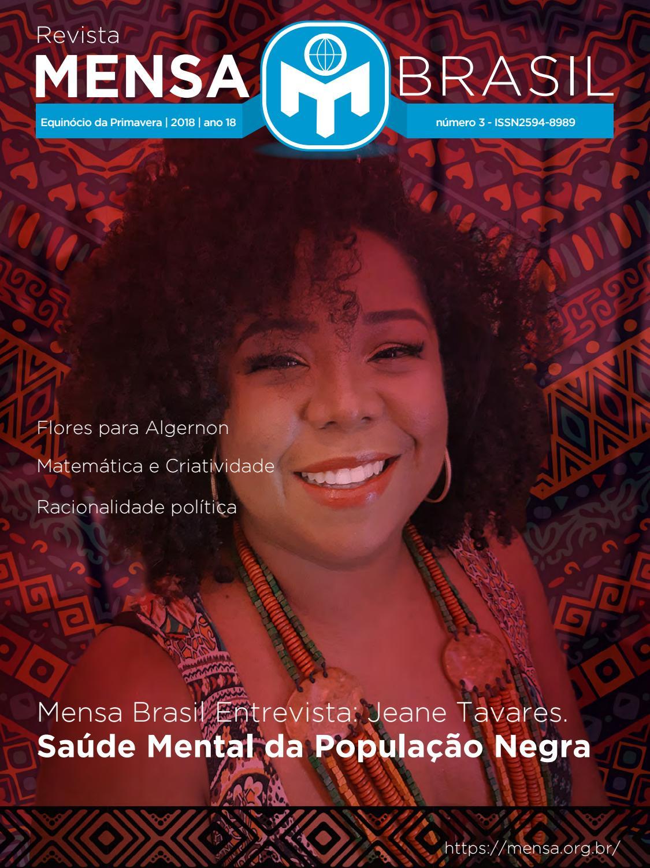 859992104 Revista mensa Brasil - edição Primavera 2018  capa4 by Associação Mensa  Brasil - issuu