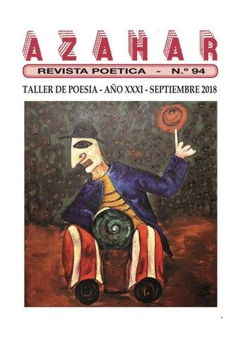 8a403b78f REVISTA POÉTICA AZAHAR NOVENTA Y CUATRO by Rusvelt Nivia Castellanos ...