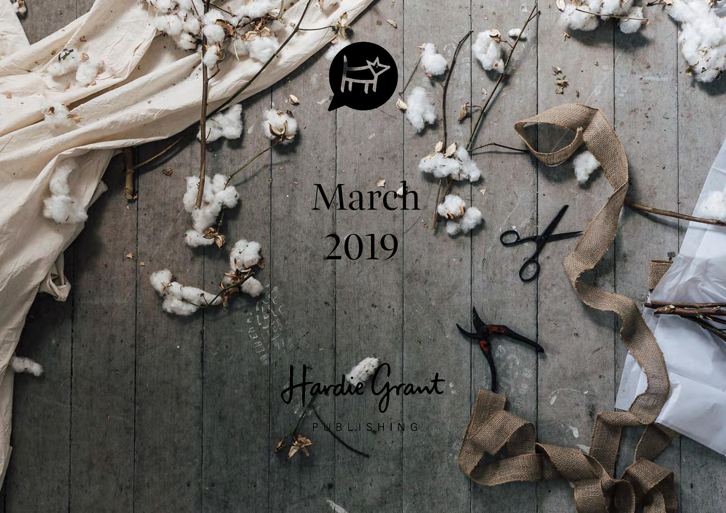 HGBooks March Kit 2019 by Hardie Grant Publishing - issuu
