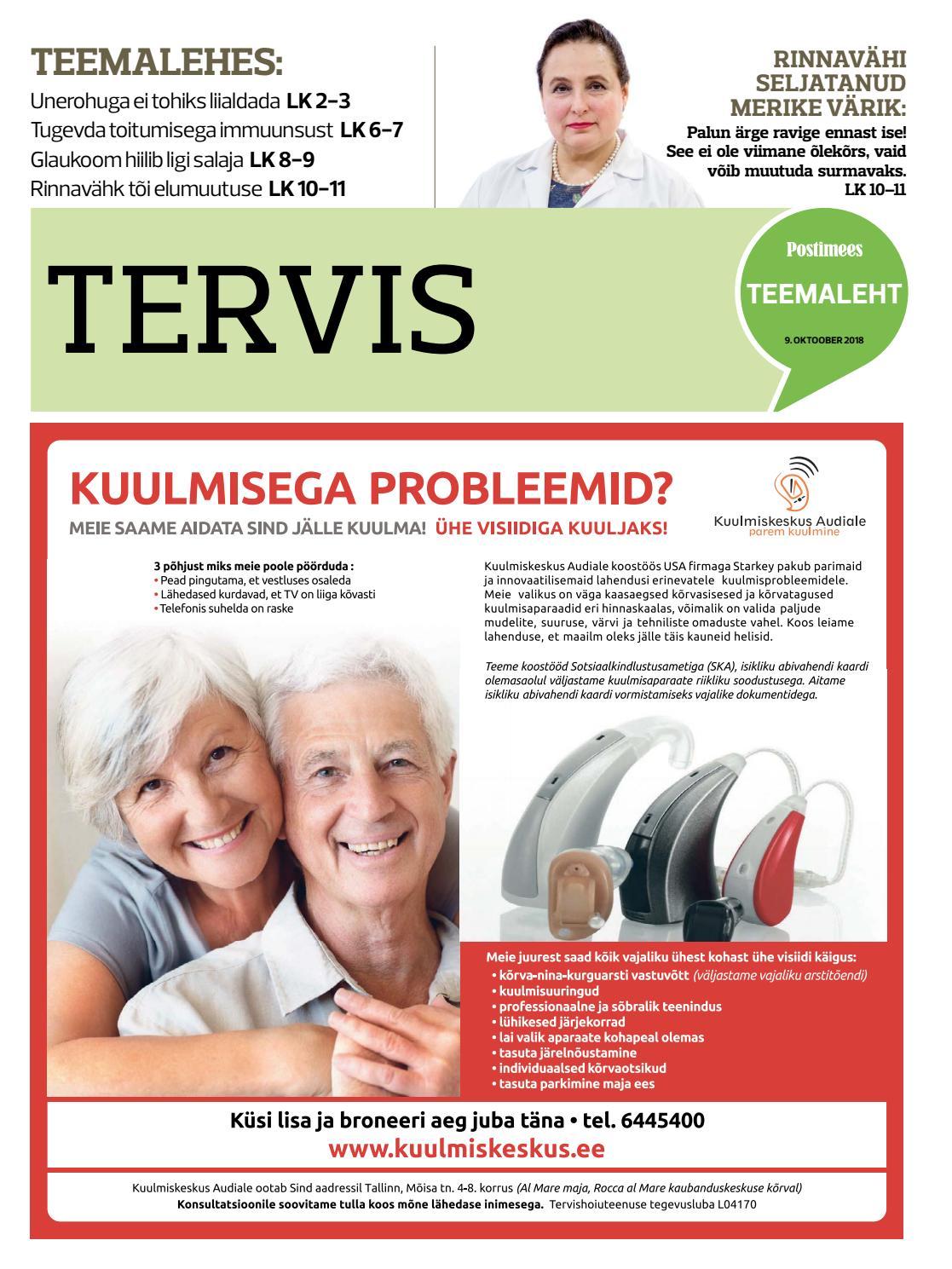 17b756db972 Tervis 9. oktoober 2018 by Postimees - issuu