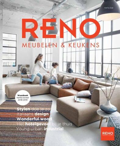 Leren Bank Schapenleer.Reno Woonboek Herfst Winter 2018 By Hala Visueel Adverstising Issuu