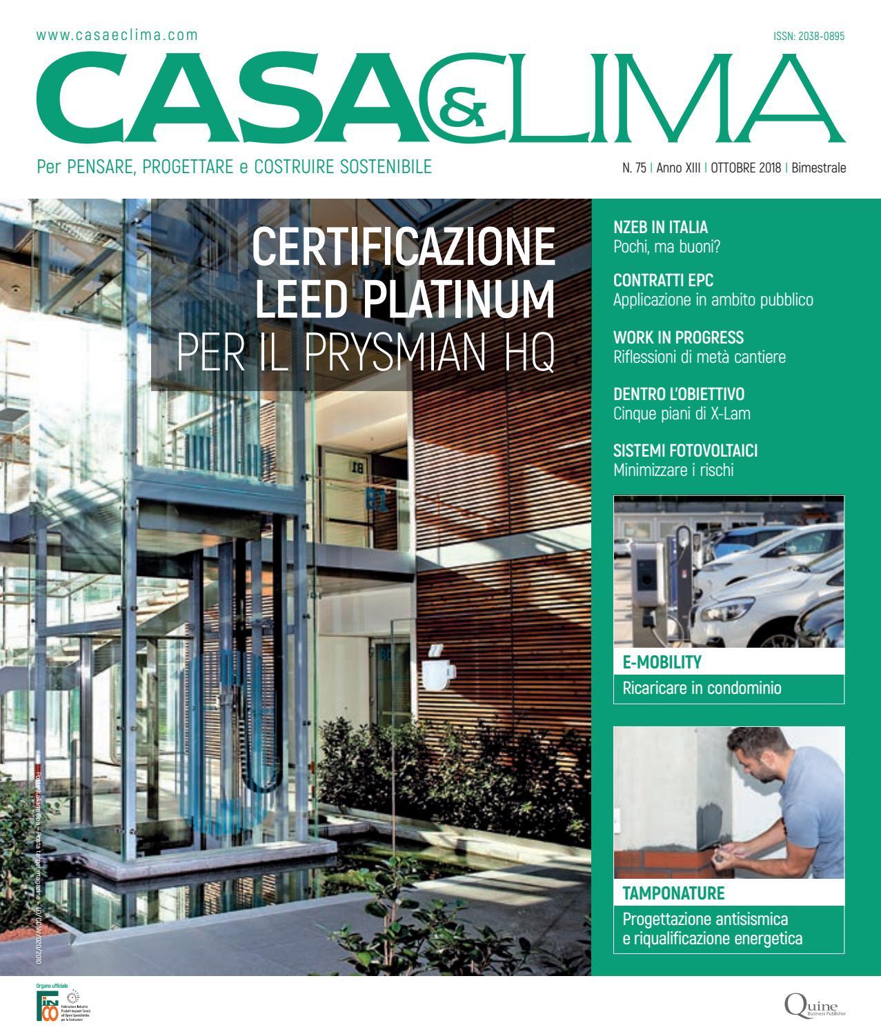 Serra Bioclimatica Normativa Lombardia casa&clima #75 by quine business publisher - issuu