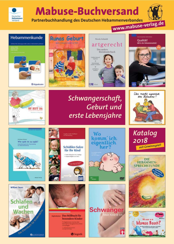 Buchkatalog Schwangerschaft Geburt Erste Lebensjahre 2018