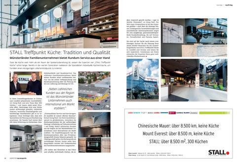 Stall Treffpunkt Küche Gronau Westfalen | Top Munster Herbstausgabe 2018 By Top Magazin Issuu