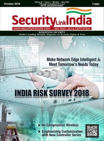 SecurityLink India October E-Magazine by Security Link India - issuu