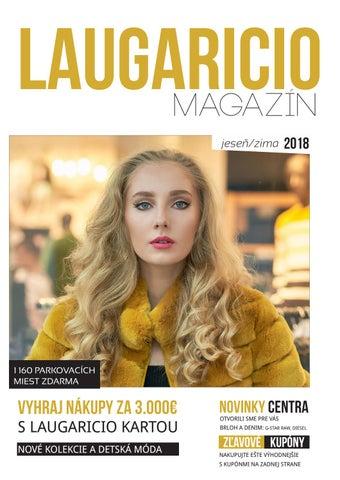c029cd893b8e Magazín OC Laugaricio - Jeseň Zima 2018 by Obchodné centrum ...