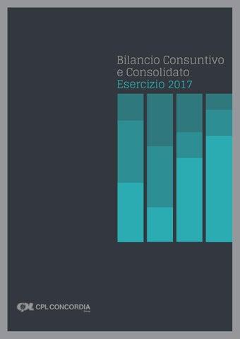 Cpl Concordia Soc Coop Bilancio 2017 By Cpl Concordia Issuu