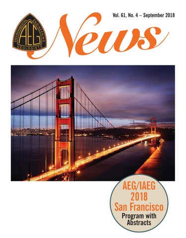 AEG News September 2018 - Vol  61, No  4 by Association of