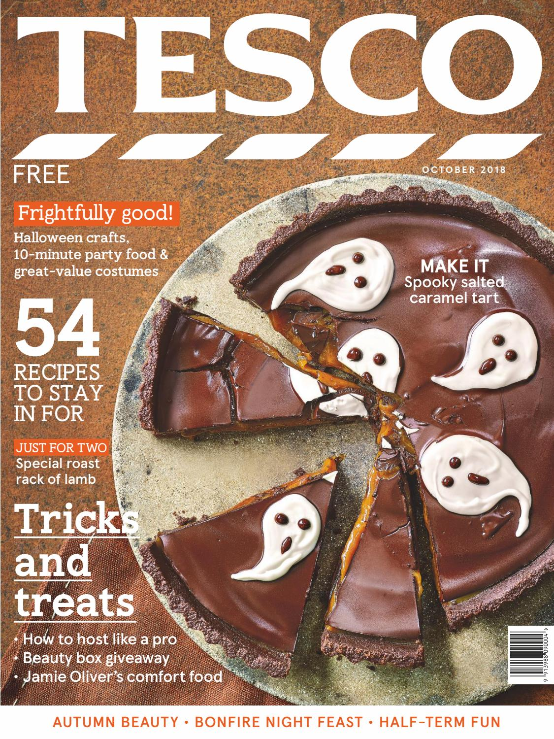 e43246871 Tesco Magazine - October 2018 by Tesco magazine - issuu