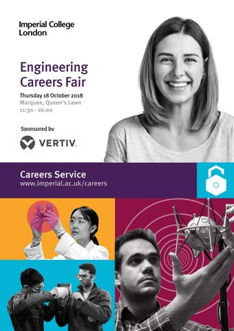 Imperial Engineering Careers Fair brochure 2018 by Imperial College