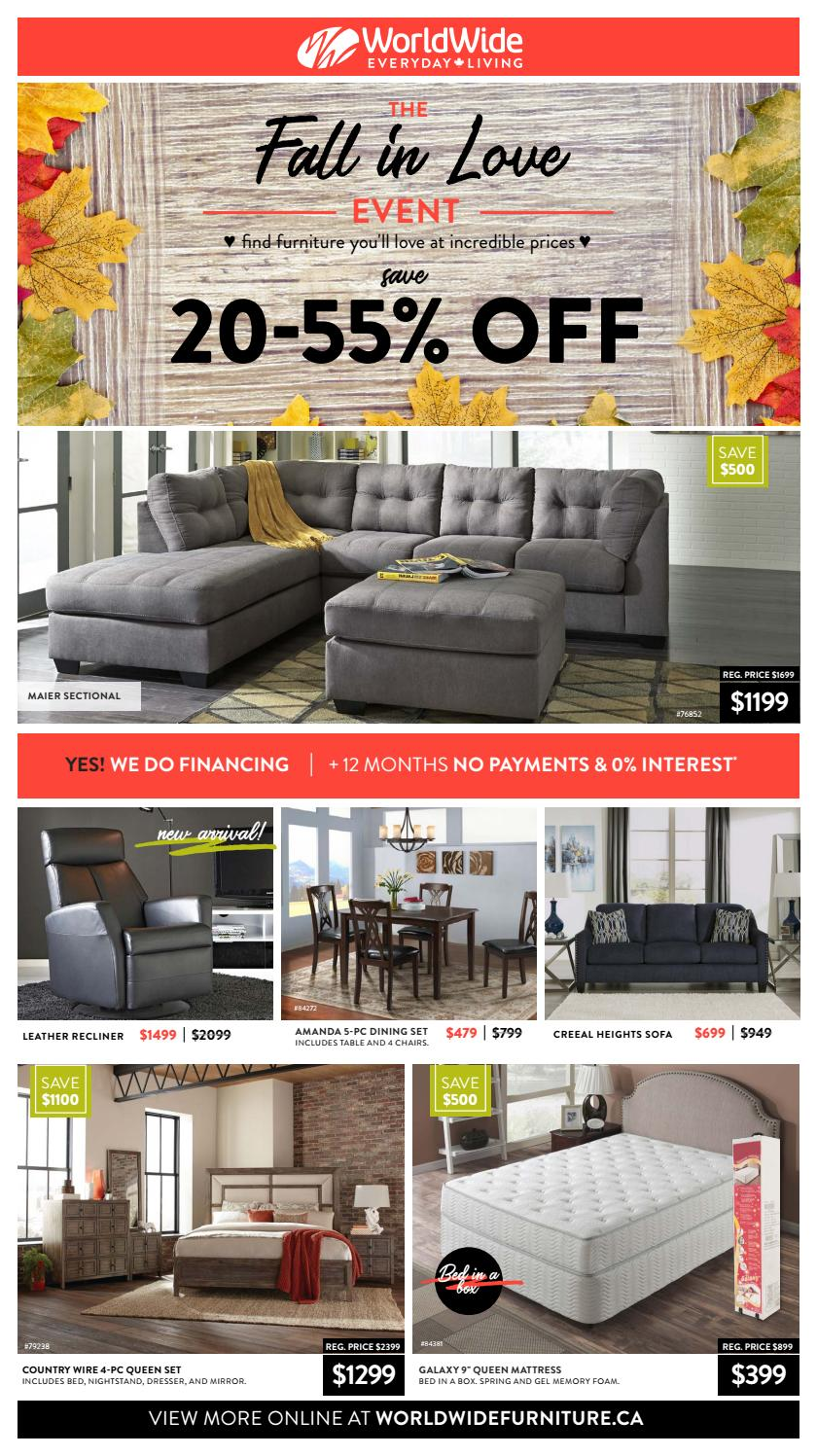 - Worldwide Furniture - The Fall In Love Event By WorldWide