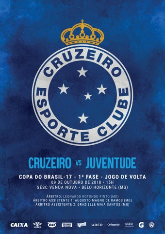Pk Digital Sub 17 Cruzeiro X Juventude 09 10 2018 By Cruzeiro Esporte Clube Issuu