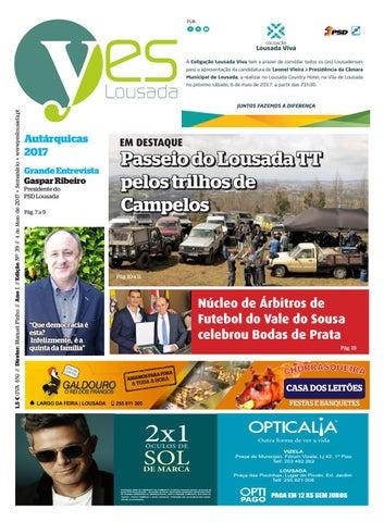 ffbfbf14f2 Edição n.º39 - Jornal Yes Lousada - 04-05-2017 by YES Lousada - issuu