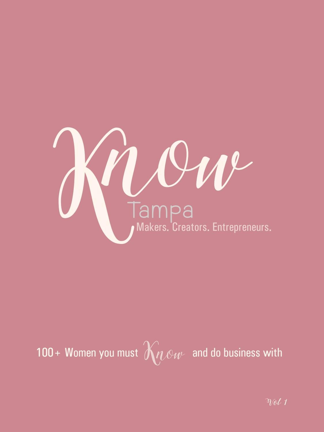 KNOW Tampa by KNOW Publications - issuu