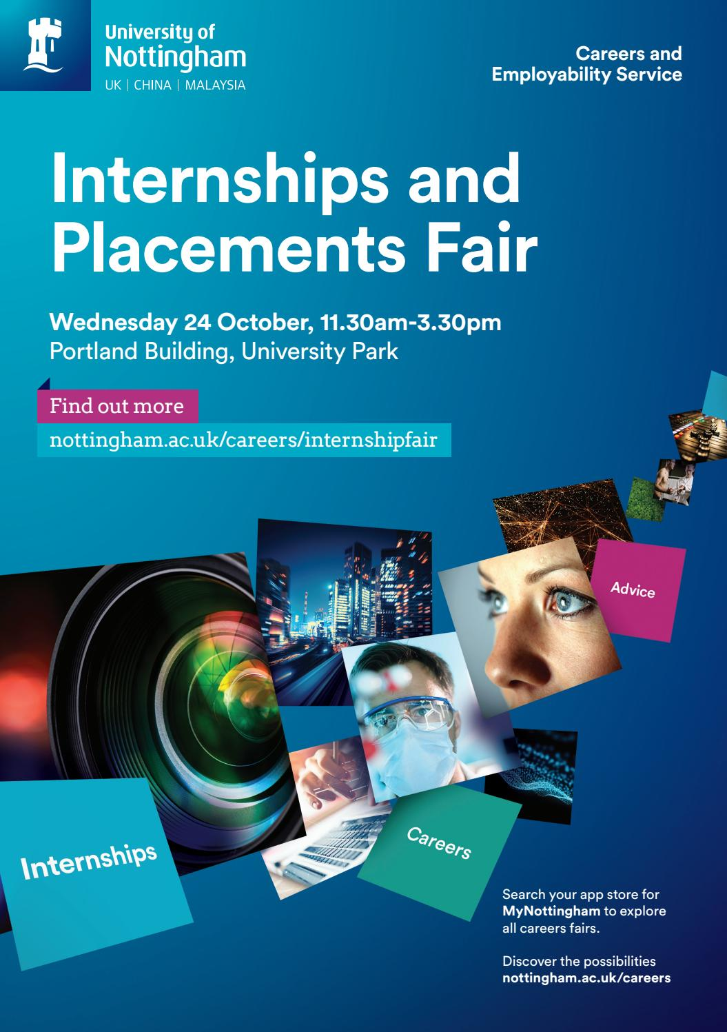 Internships and Placements Fair Guide