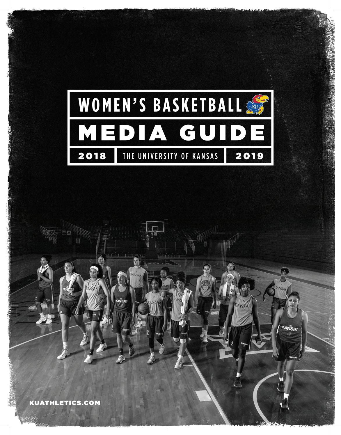 cb97809109a 2018-19 Kansas Women s Basketball Guide by Kansas Athletics - issuu