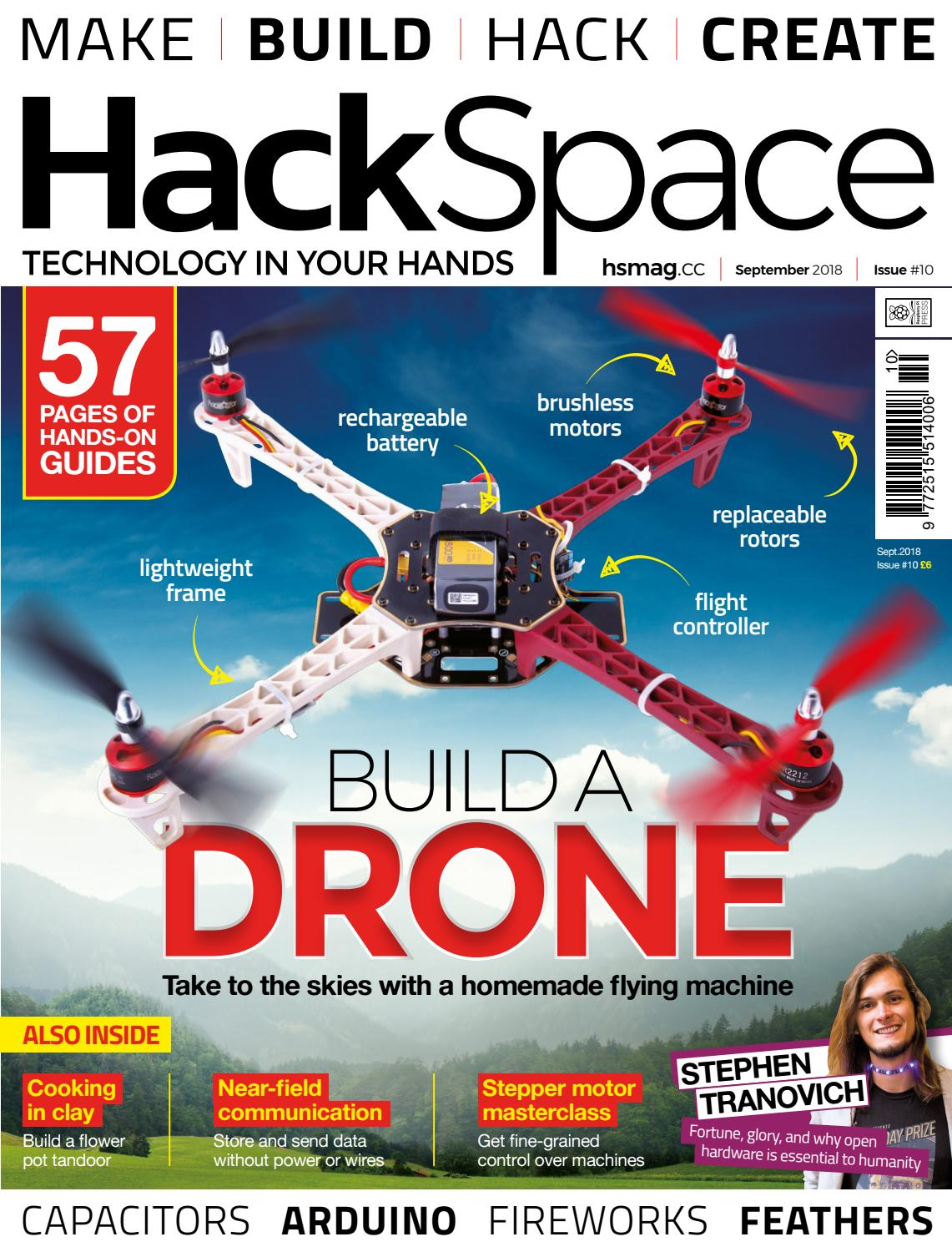 Hackspace Magazine 10 By Angel De Miguel Issuu Atlas Scientific Orp Circuit Sensor For Arduino Ebay