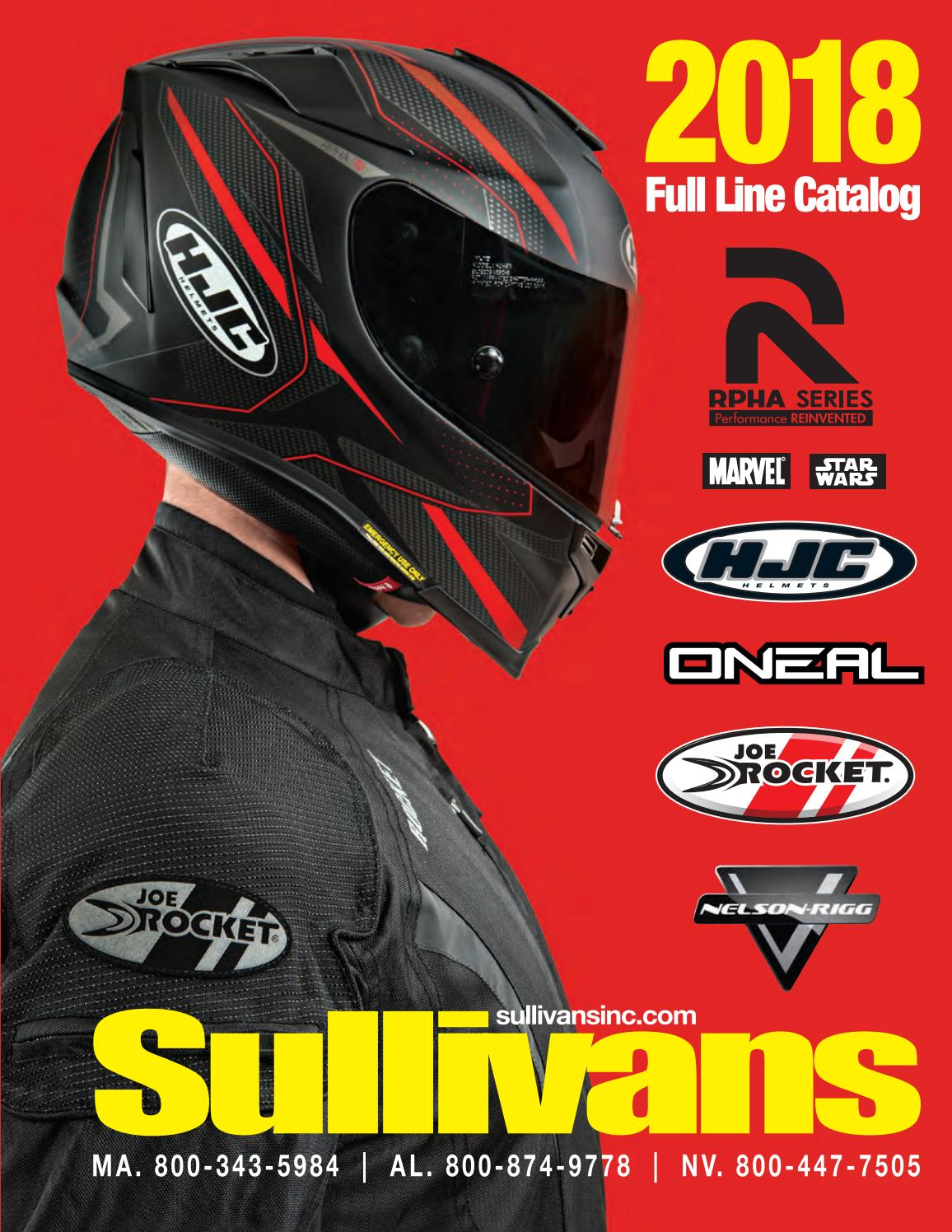 2018 Sullivans Inc Full Line Product Catalog by Sullivans