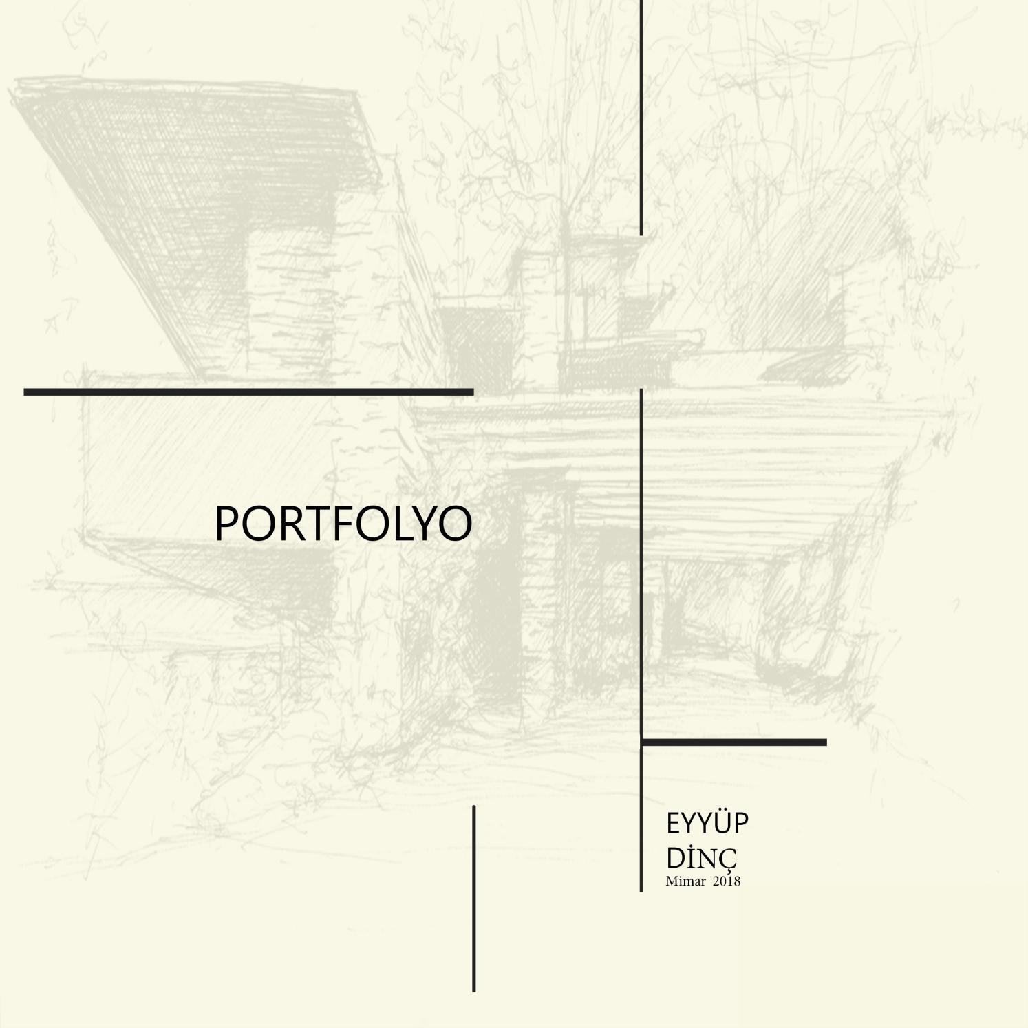 Eyyup Dinc Mimari Portfolyo By Eyyb Issuu