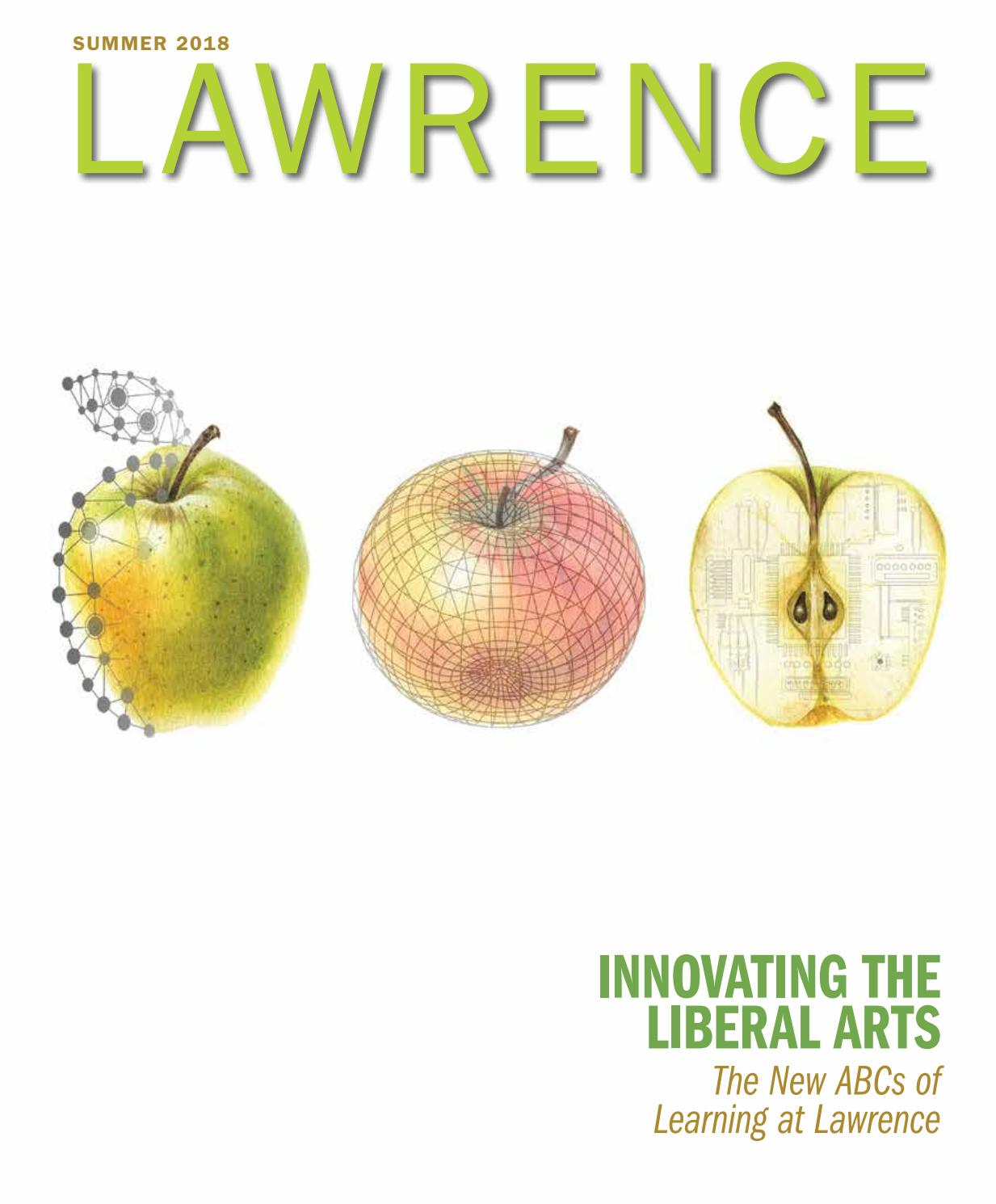 Lawrence Magazine Summer 2018 By Lawrence University Issuu