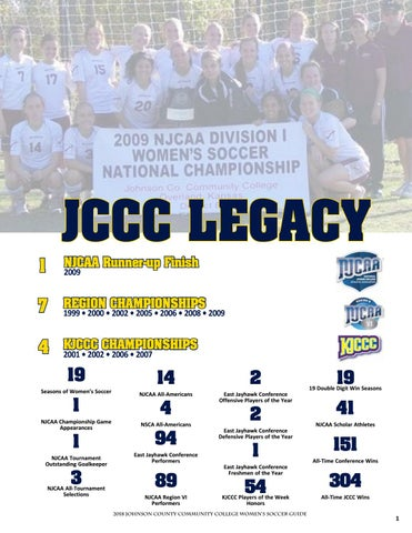 fbe6c21e JCCC Women's Soccer Media Guide by Chris Gray - issuu