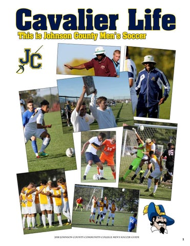 2018 Jccc Mens Soccer Guide By Chris Gray Issuu
