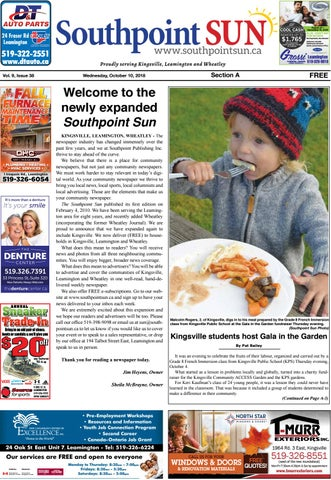 788a7d19 Southpoint Sun - Oct. 10, 2018 by Southpoint Sun - issuu