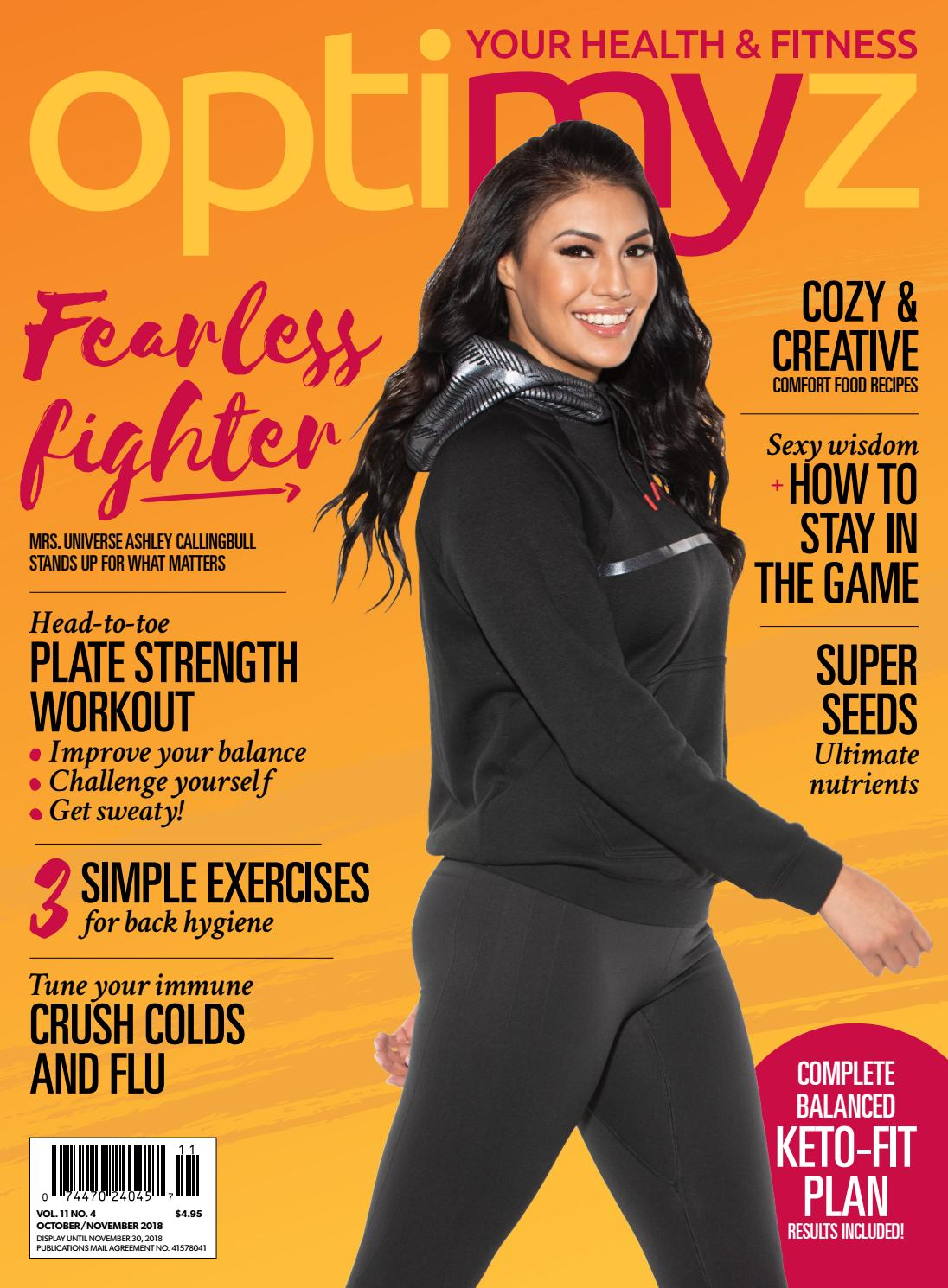 The Fearless Fighter Issue by OptimyzMag - issuu